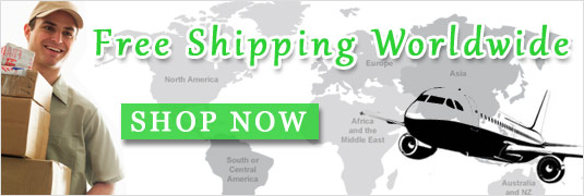 Worldwide Free Shipping!
