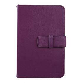 Universal Purple 7 inch Tablet PC Leather Case Protector Cover