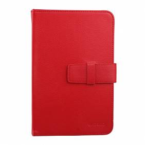 Universal Red 7 inch Tablet PC Leather Case Protector Cover