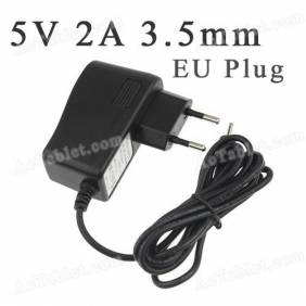 Universal 5V 2A 3.5mm EU Power Supply Adapter Charger for Android Tablet PC MID