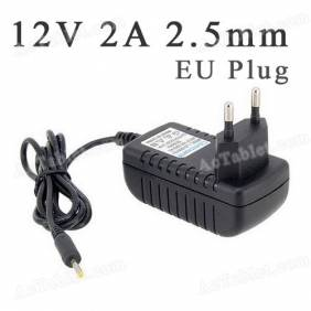 Universal 12V 2A 2.5mm EU Power Supply Adapter Charger for Android Tablet PC MID