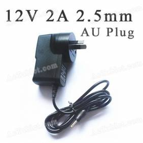 Universal 12V 2A 2.5mm AU Power Supply Adapter Charger for Android Tablet PC MID
