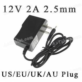 Universal 12V 2A 2.5mm US/EU/UK/AU Power Supply Adapter Charger for Android Tablet PC MID