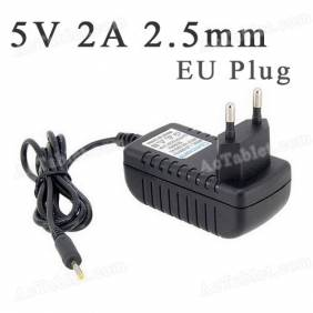 Universal 5V 2A 2.5mm EU Power Supply Adapter Charger for Android Tablet PC MID