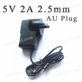 Universal 5V 2A 2.5mm AU Power Supply Adapter Charger for Android Tablet PC MID