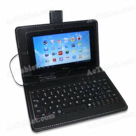 Universal 7 Inch Mini USB Keyboard Case for Android Tablet PC