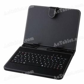 Universal 8 Inch Micro USB Keyboard Case for Android Tablet PC
