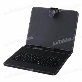 Universal 9.7 Inch Micro USB Keyboard Case for Android Tablet PC