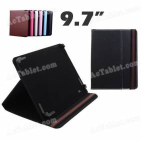 9.7 Inch Leather Case Cover for Onda V971s Quad Core A31s Tablet PC