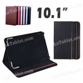 New 10.1 Inch Leather Case Cover with Adjustable Fixed Foot for Android Tablet PC MID
