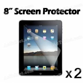 Universal 8 Inch Screen Protector Film for Android Tablet PC APad EPad MID