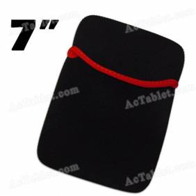 Black Soft Protect Cloth Pouch Bag for 7 Inch Tablet PC MID