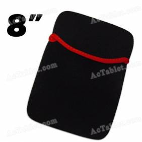 Black Soft Protect Cloth Pouch Bag for 8 Inch Tablet PC MID