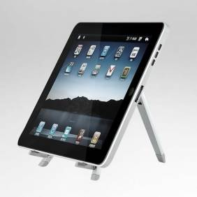 Portable Holder Stand for iPad & Andrid Tablet PC Silvery