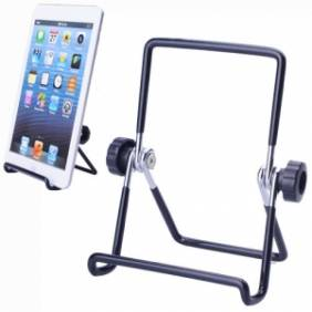 Portable Flexible Stand Holder for 7 Inch Tablet PC Black