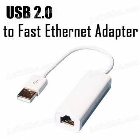 USB 2.0 to RJ45 fast Ethernet Network Adapter for Android Tablet PC