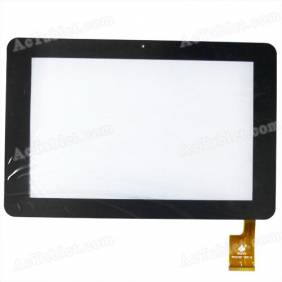 Replacement Touch Screen for Sanei N10, Ampe N10 & Deluxe Android Tablet PC 10.1 Inch