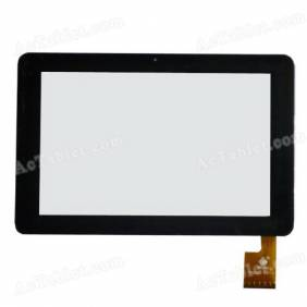 Replacement Touch Screen for Sanei N10 (Ampe A10) Quad Core 3G Qualcomm MSM8625Q Tablet PC 10.1 Inch