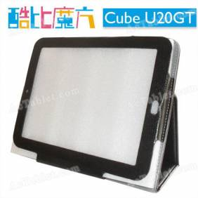 Leather Case Cover for Cube U20GT RK3066 Dual Core Tablet PC 9.7 Inch