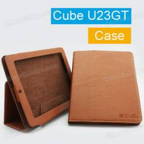 Leather Case Cover for Cube U23GT RK3066 Dual Core Tablet PC 8 Inch