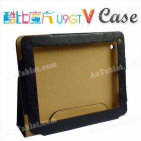 Leather Case Cover for Cube U9GT5 (U9GT V) RK3066 Dual Core Tablet PC 9.7 Inch