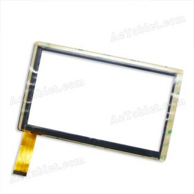 ZHC-Q8-057A 7 Inch Digitizer Glass Touch Screen Replacement for Allwinner A13 Android MID Tablet