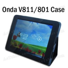Leather Case Cover for Onda V811 V801 Dual Core Tablet PC 8 Inch