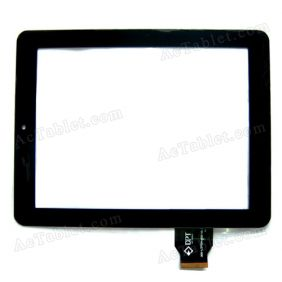 Replacement Touch Screen for Onda V811 V801 Dual Core Tablet PC 8 Inch 300-L3759A