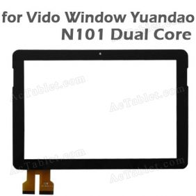 Replacement Touch Screen for VIDO Yuandao N101 Dual Core Tablet PC 10.1 Inch