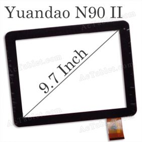 Replacement Touch Screen for Window Yuandao N90 II Dual Core Tablet PC 9.7 Inch
