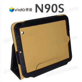 Leather Case Cover for VIDO Yuandao N90S Dual Core Tablet PC 9.7 Inch