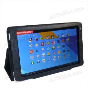 Leather Case Cover for Ramos W27Pro Quad Core Tablet PC 10.1  Inch