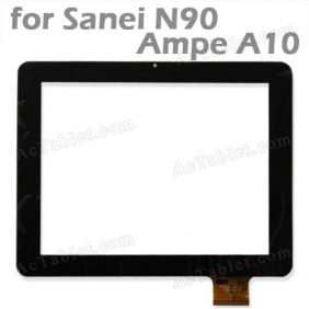 Replacement Touch Screen for Sanei N90 Ampe A90 Tablet PC 9.7 Inch