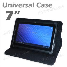 Leather Case Cover for Ainol Novo 7 Rainbow Tablet PC 7 Inch