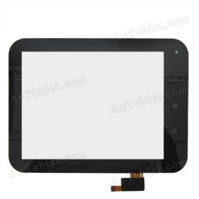 Replacement Touch Screen for Window Yuandao N80 Deluxe RK2918 Tablet PC