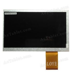 Replacement LCD Screen for Window Yuandao N12 Deluxe RK2918 Tablet PC 7 Inch