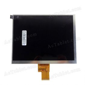 Replacement LCD Screen for Window Yuandao N80 Dual Core RK3066 Tablet PC