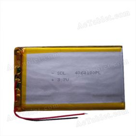 Replacement 3000mAh Battery for Yuandao Vido N70S Dual Core RK3066 Tablet PC