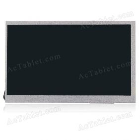 Replacement LCD Screen for Onda V701 Dual Core Amlogic 8726-MX Tablet PC 7 Inch