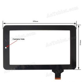 Replacement Touch Screen Panel for Onda V702 Fashion A13 Tablet PC 7 Inch