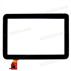 Replacement Touch Screen for Teclast A11 Dual Core RK3066 Tablet PC 10.1 Inch