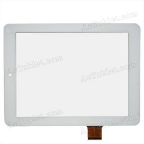 Replacement Touch Screen for Teclast P88 Quad Core A31 Tablet PC