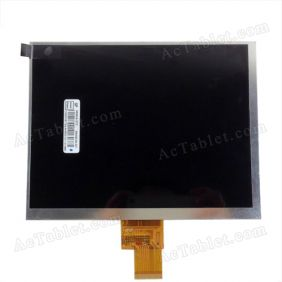 Replacement LCD Screen for Teclast A80h Dual Core Amlogic 8726-MX Tablet PC