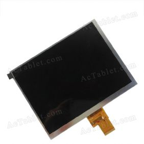 Replacement LCD Screen for Ramos X10 Mini Pad Quad Core ATM7029 Tablet PC