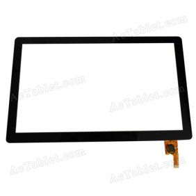 Replacement Touch Screen for Ramos W27Pro Quad Core ATM7029 Tablet PC 10.1 Inch