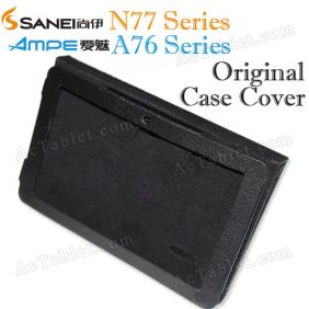 Leather Case Cover for Sanei N77 (Ampe A76) Fashion AllWinner A13 Tablet PC 7 Inch