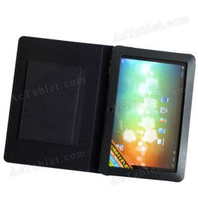 Leather Case Cover for Sanei N10 (Ampe A10) Ultimate Quad Core A31 Tablet PC 10.1 Inch