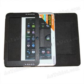Leather Case Cover for Sanei N78 (Ampe A78) 2G MTK6575 Tablet PC 7 Inch