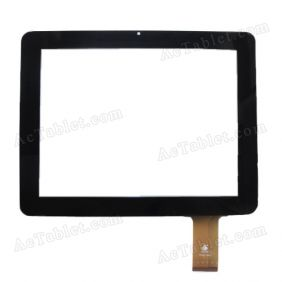 Replacement Touch Screen for Sanei N90 (Ampe A90) Quad Core A31s Tablet PC