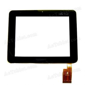 Replacement Touch Screen for Sanei N83 (Ampe A85) Dual Core RK3066 Tablet PC